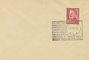 Poland postmark JAROSLAW - Exhibition Industry and Crafts - <span itemprop=availableAtOrFrom>Bystra Slaska, Polska</span> - Poland postmark JAROSLAW - Exhibition Industry and Crafts - Bystra Slaska, Polska