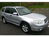 2006 '56' SUBARU FORESTER X 4X4 ESTATE - 12 STAMPS / VGC / 2 KEYS