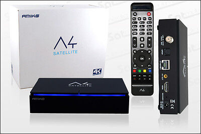 AMIKO A4 Android 4K Sat Receiver UHD 2160p online kaufen