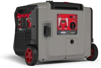 Briggs Stratton 4500-w Quiet Portable Gas Inverter Generator W Electric Start