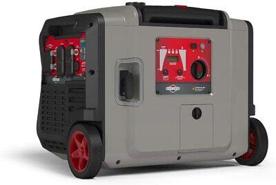 Briggs Stratton 4500-w Quiet Portable Gas Inverter Generator W Electric Start