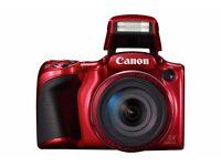Brand New Canon Powershot SX420 20MP 42x Zoom WIFI Bridge Camera - Red
