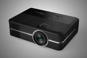 """Optoma UHD51A 4K Projector and 106"""" Screen"""