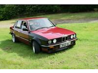 BMW E30 316 1986 2,8L conversion drift, track, fully restored engine