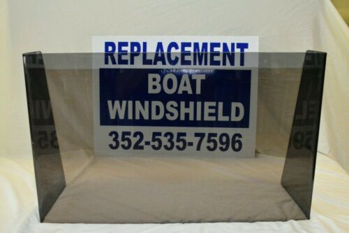 """27 1/4 """"  ID wide center or side boat windshield,    16"""" high"""