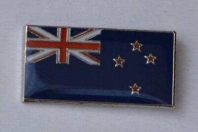 New Zealand Flag Quality Enamel Pin Badge