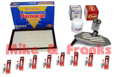 Dodge Ram 4,7L 02-07 Luftfilter Ölfilter Zündkerzen Getriebeölfilter Filter usw