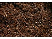 Treated Wood Bark / Mulch / Chippings / Soil Topping