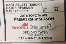 Geelong Cats vs GWS Giants Applecross Melville Area Preview