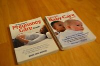 Canada's Pregnancy Care Book and Canada's Baby Care Book