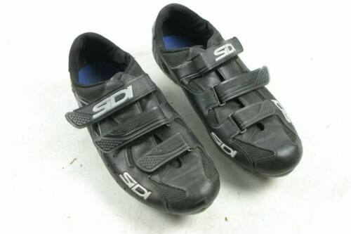 SIDI 46.5 EU or 12.5 US Size Hook and Loop Strap Closure Cycling Shoes