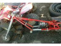 Mini moto chopper 50cc spares or repair