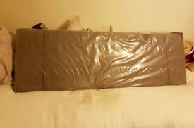 Kingsize Fabric Headboard - BRAND NEW in box