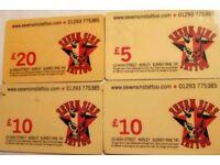 Seven Sins Gift Card