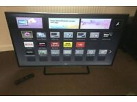 Panasonic Vieira 42 inch supper slim line 3D smart led with remote control
