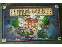 Battle of the Sexes Vintage Board Game by Spears