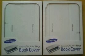 Samsung Galaxy Note 10.1 Book Cover - White (2 Available) £10 each or £16.50 for both