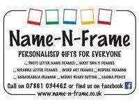 Name-N-Frame