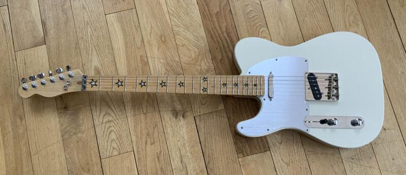 Lefthanded T Style Guitar Custom built By JLK Guitars. Roadworn Finish