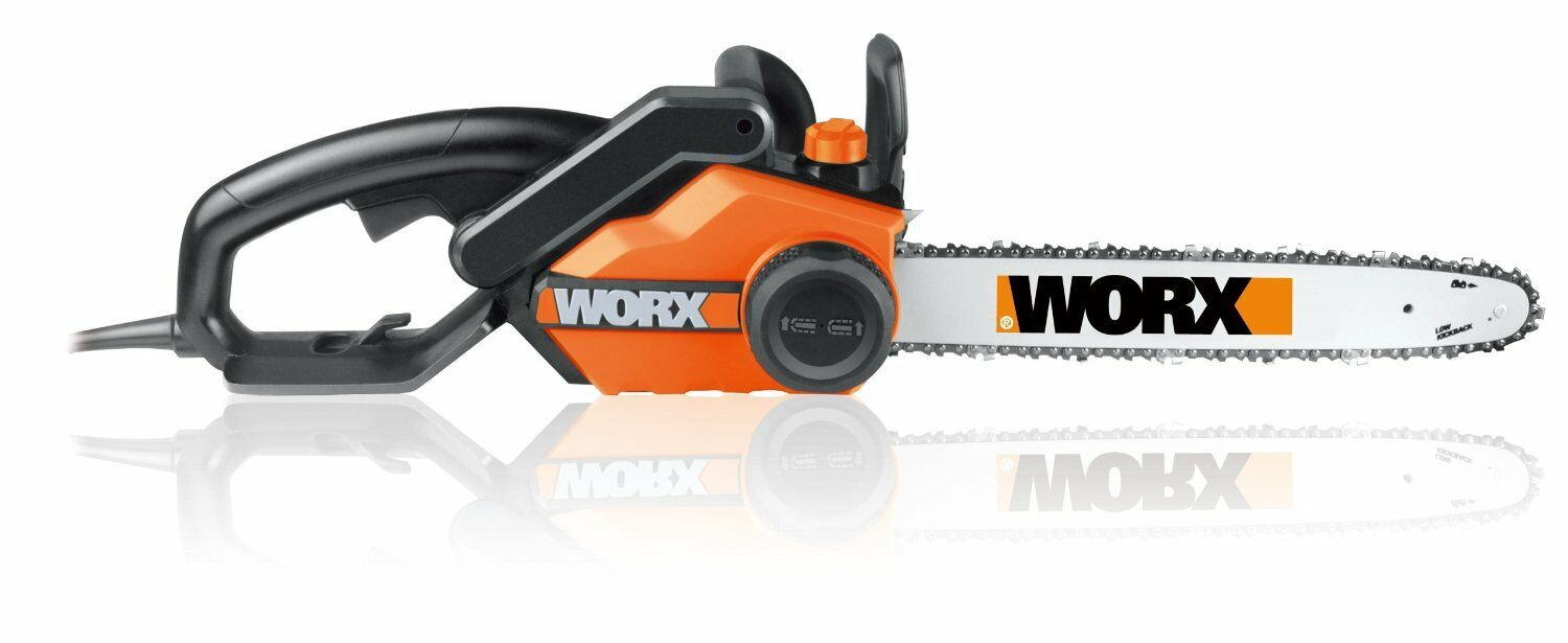 "WORX WG303.1 14.5 Amp 16"" Electric Chainsaw with Auto-Tensio"