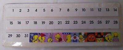 2000 The Danbury Mint Goebel Tweety Bird Calendar Complete Tile Set