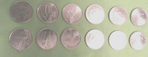 2009 Washington DC & Territories Quarter Year Set - 12-Coin P&D from UNC Rolls