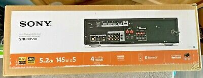 Sony STR-DH590 5.2 Multi-Channel Receiver with Bluetooth NEW!