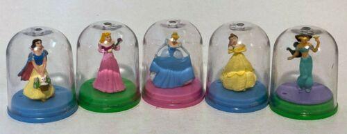 Disney Princess Figurine Collection full set of 5 TomyGacha Toy Vending Capsules