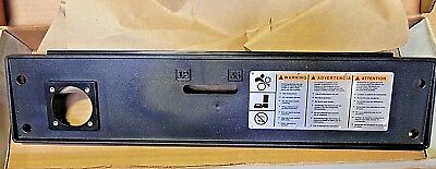 Ridgid 1224 Pipe Threader Front Cover Swith Warning Plate New Free Ship
