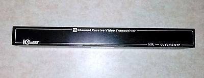 ICRealtime IVB-216 16 CHANNEL PASSIVE UTP CAT5/6 VIDEO BALUN HUB/RACKMOUNT 1U