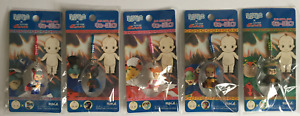 5 x GATCHAMAN Kewpie Doll Cell Phone Charm Battle of the Planets
