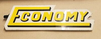 Antique Hit And Miss Gas Engine Undersized Economy 1 12hp Decal