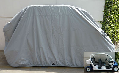 Golf Cart Cover For Chrysler Gem E4 4 Passengers Golf Cart . Grey