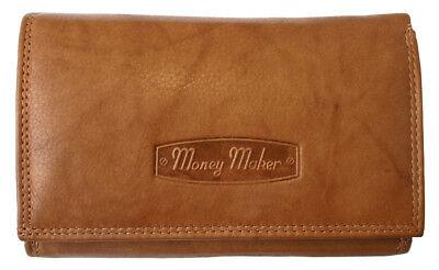 Damen Börse Geldbörse Portemonnaie Geldbeutel Portmonee Echtes Leder Brieftasche