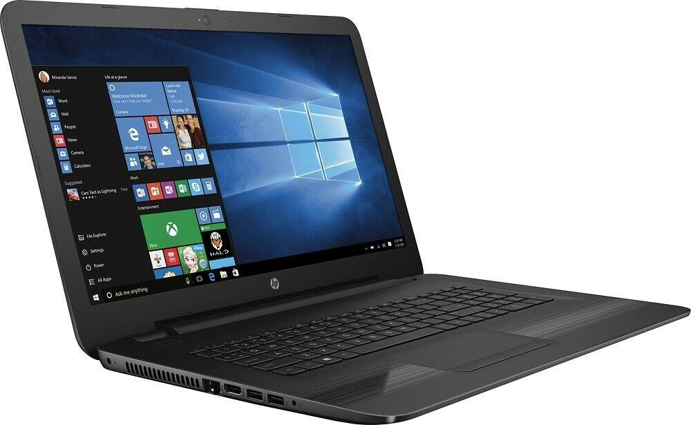 "HP 17-X115DX 17.3"" HD Laptop Notebook PC i7-7500U up to 3.5G"