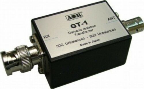 AOR GT-1 Galvanic isolation transformer Received noise suppression