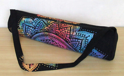 New Mandala Yoga Mat Carrier Bag Hippie Cotton Tie Dye Bags With Shoulder  Strap 32db1b87bbecb