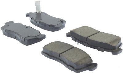 Disc Brake Pad Set-Premium Ceramic Pads w/Shims & Hardware Front fits i-MiEV