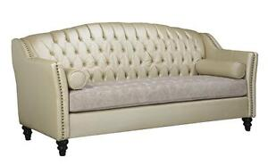 Original Tufted Sofas - Up to 70% Less Than Retail  - Canadian made - Can be customize in Any Color (AD 286)