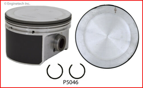 6 Enginetech P4008 .50 Engine Piston Set