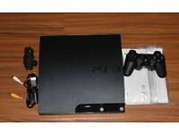 PS3 slim brand new condition with controller and games etc
