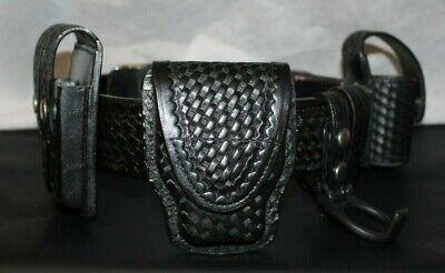 Boston Leather 5559PS-5 Ballistic Weave Streamlight Stinger Light Holder Open