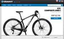 GIANT Mountain Bike - XTC Composite 29er1 (2014 Model) Pendle Hill Parramatta Area Preview