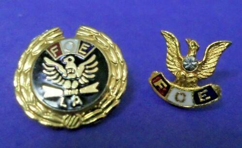 2 FOE (Fraternal Order of Eagles) Pins