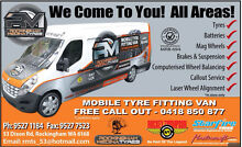 FREE Mobile Tyre Fitting Baldivis Rockingham Area Preview