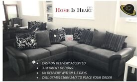 * THE HOME IS HEART BLACK FRIDAY 2017 SALE * GENUINE CHENILLE SHANNON SOFAS / 3 COLOUR OPTIONS **