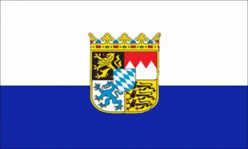 BAYERN 5X3 FEET FLAG Polyester fabric GERMANY GERMAN BAVARIA MUNICH