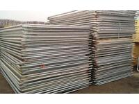 40 X Heras Style Security Fencing Sets > Temporary Fencing (Panels, Feet, Clips)