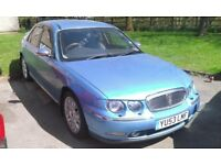 Rare Rover 75 Connoisseur SE+++ CDTi In Monogram Celestial Blue