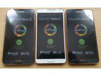 Samsung Galaxy Note 3, 32GB, Dual Sim, Mint Condition Like NEW, Unlocked